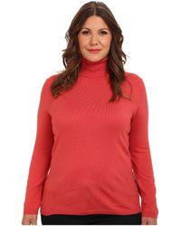 Pendleton Plus Size Classic Turtleneck Sweater - Lyst