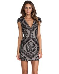 Dolce Vita Black Bellissa Dress - Lyst