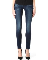 Levi's Demi Curve Skinny Mid-rise Jeans - Lyst