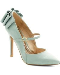 ModCloth Zeal Of Approval Heel green - Lyst
