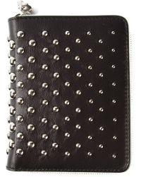 Alexander McQueen Studded Wallet - Lyst