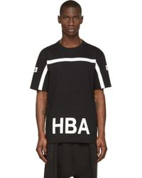 Hood By Air Black And White House Of Flies T_Shirt - Lyst