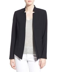 Trouvé | Collarless Open Front Jacket | Lyst