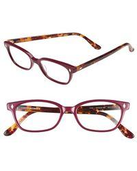 Corinne Mccormack 'cyd' 50mm Reading Glasses - Fuschia