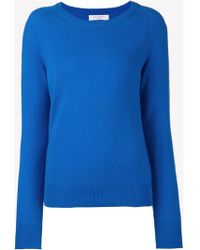 Equipment Fitted Sweater Top - Lyst