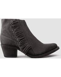 AllSaints Bonny West Boot gray - Lyst