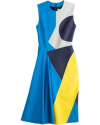 Roksanda Colorblock Sheath Dress - Lyst