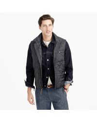 J.Crew Broadmoor Quilted Vest With Primaloft® - Lyst