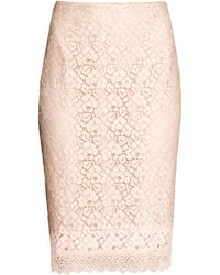 H&M Lace Skirt - Lyst