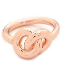 Giles & Brother - Archer Ring - Rose Gold - Lyst