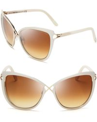 Tom Ford - Celia Cat Eye Sunglasses - Lyst