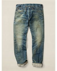 RRL Slim-fit Indigo-dyed Jean - Lyst