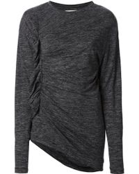 Isabel Marant Ruched Detail Sweater - Lyst