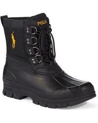 Polo Ralph Lauren Crestwick Rubber Duck Boots - Lyst