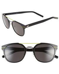 Dior 'Al 13.5S' 52Mm Sunglasses black - Lyst