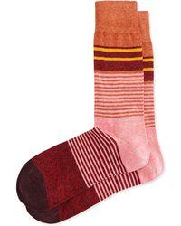 Paul Smith Merchant Multi Stripe Socks - Lyst