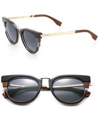 Fendi Cat'S-Eye Sunglasses - Lyst