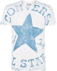 Converse Oversize Star Logo Graphic T Shirt - Lyst