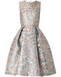 Mary Katrantzou Jq Astere Cookiejacquard Dress - Lyst