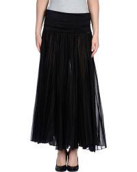 Gianfranco Ferré Long Skirt - Lyst