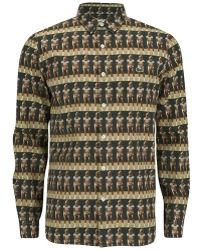 Lacoste L!ive - Vintage Ads Men's Long Sleeved Shirt - Lyst