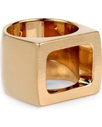 Chloé Daria Ring Gold - Lyst