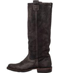 Fiorentini + Baker | Eternity Effie Suede Knee-High Boots | Lyst