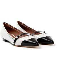 Tabitha Simmons Pointy Spectator Mary Jane - Lyst