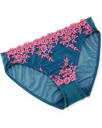 Wacoal Embrace Lace Bikini Brief - Lyst