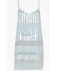 French connection Siberian Sequinned Dress - Lyst