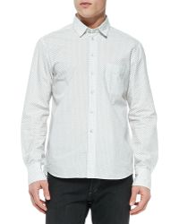 Rag & Bone Dune Paisleyprint Shirt - Lyst