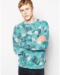 Wesc Sweatshirt with Wild Print - Lyst