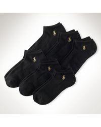 Ralph Lauren Lowprofile Sport Sock 6pack - Lyst