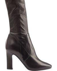 Tamara Mellon Sweet Revenge Stretch Leather Legging Boots - Lyst