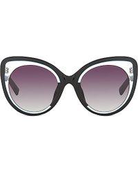 Erdem Edm141 Cateye Sunglasses - Lyst