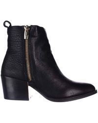 Vince Camuto | Imala Low Heel Ankle Boots | Lyst