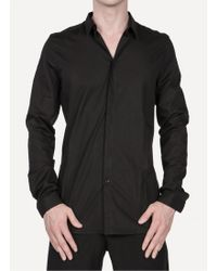 Nicolas Andreas Taralis H1415 Ch1001 Classic Shirt black - Lyst