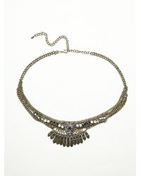 Free People Silver Rendezvous Belt - Lyst