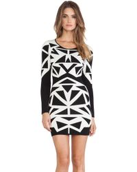 Parker Marzi Knit Dress - Lyst