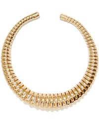 Nasty Gal Coil Up Collar Necklace - Lyst