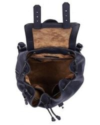 Mackage - Tanner-F5S Ink Leather Backpack - Lyst