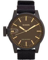 "Nixon The Chronicle"" Watch - Lyst"