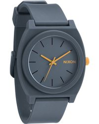 Nixon Time Teller P Grey Matt Watch - Lyst