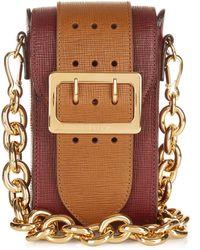Burberry Prorsum - The Belt Oblong Leather Cross-body Bag - Lyst