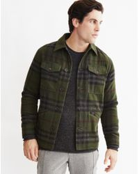 Only & Sons | Mens Bomber Jacket Green | Lyst