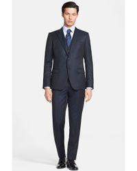 Dolce & Gabbana 'Martini' Extra Trim Fit Three-Piece Suit - Lyst