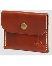 The Quality Mending Co. - Wallet Brown - Lyst