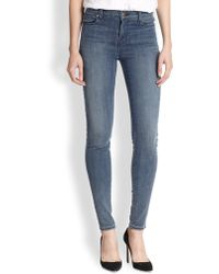 J Brand Alana High-Rise Ankle Crop Jeans - Lyst
