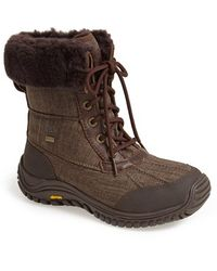 Ugg 'Adirondack Ii' Waterproof Boot brown - Lyst