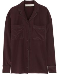 Stella McCartney Goodwin Silk Shirt - Lyst